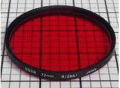 USED Lens Filter Hoya 72mm R(25A)