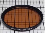 USED Lens Filter Vivitar VMC 85A 72mm