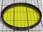 USED Lens Filter 72mm Hoya Y(K2)