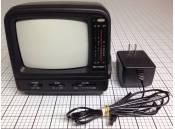 """USED 5"""" Television Analog Black & White Fiction ACN3517 AC/DC"""