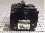 USED 2 Pole Circuit Breaker 20 Amp Siemens Type BL 120/240V