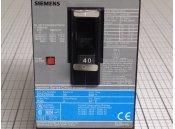 USED 3 Pole Circuit Breaker 40A Siemens Type ED63B040 600VAC
