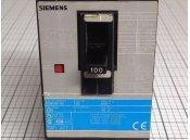 USED 3 Pole Circuit Breaker 100A Siemens Type ED63B100 600VAC