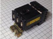 USED 3 Pole Circuit Breaker 100A Square D Type FA36100 600VAC