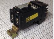 USED 2 Pole Circuit Breaker 100A Square D Type FA22100AB 240VAC