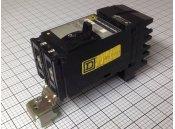 USED 2 Pole Circuit Breaker 100A Square D Type FA22100AC 240VAC