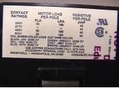 3-Pole Contactor, Honeywell ♯R8212R-1007, $19.98