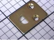 Universal Strike Plate, 1-1/4-Inch x 7/8-Inch, $0.75